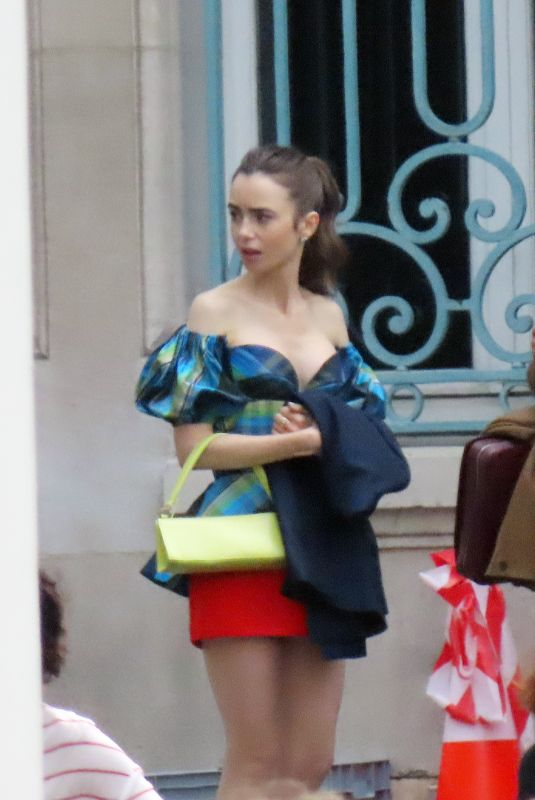 Lily Collins On the