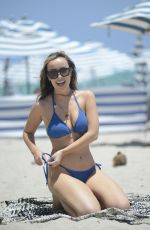 Lisa Opie Enjoys Her Vacation At The Beach in Miami