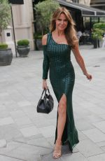 Lizzie Cundy Seen at the Fast and Furious screening in Leicester Square at Vue Cinema