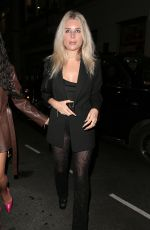 Lottie Moss At the Opening Of