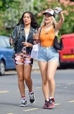 Lottie Moss Flashes a diamond ring on her engagement finger, spotted out with friends in sunny Notting Hill