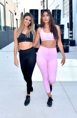 Madison Reed & Katherine LaPrell At Victoria's Secret On Point Sport Collection launch event in LA