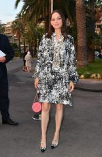 Marion Cotillard Attending the Chanel dinner during the 74th annual Cannes Film Festival in France