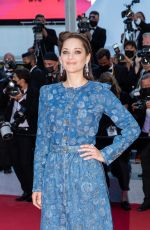 """Marion Cotillard Attends the """"De Son Vivant (Peaceful)"""" screening during the 74th annual Cannes Film Festival"""