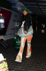 Maya Jama Seen going semi low key as she arrives back in London from Manchester at Euston Station