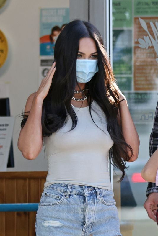 Megan Fox Out with her family in Los Angeles