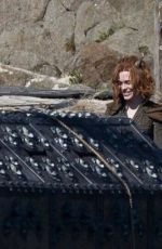 Michelle Rodriguez & Sophia Lillis On set of Dungeons & Dragons in Ireland