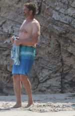 Morgan Brown Spotted having a beach day in Malibu