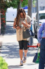 Naomi Campbell Heads to a pilates session in West Hollywood