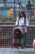 Naomi Campbell Out for The First Time With Her Daughter in New York City