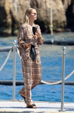 Natasha Poly Seen at the Eden Roc hotel in Antibes, France