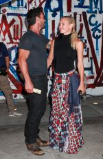 Nicky Whealan Seen leaving Craigs in West Hollywood