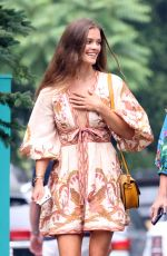 Nina Agdal Attends the Curateur launch event in The Hamptons