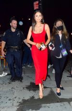 Nina Dobrev Steps out in all red for Espy