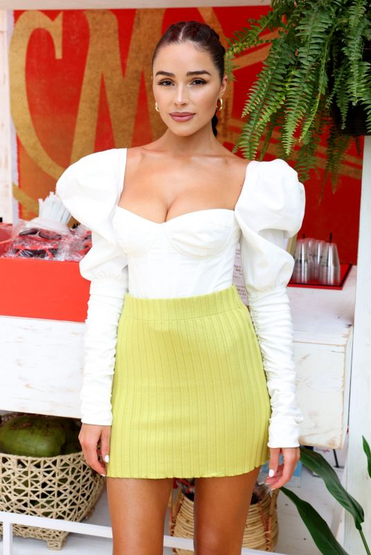 Olivia Culpo At Sports Illustrated Swimsuit Edition launch event in Hollywood