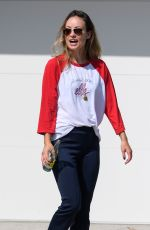 Olivia Wilde Out and about in LA