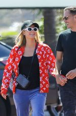 Paris Hilton Wears patriotic colors while out shopping in Malibu