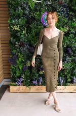 Phoebe Dynevor Attending the Wimbledon championships in London