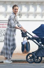 Pippa Middleton Spotted basking in the evening sunshine as pushes a pram along the streets of Chelsea