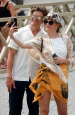 Pixie Lott Spotted sightseeing at the Vatican