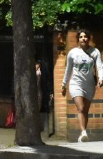 Priyanka Chopra Seen heading out to dinner with friends in Nottinghill, West London
