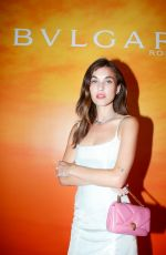 Rainey Qualley At BVLGARI x Rainsford Dinner at Tase Gallery in Los Angeles