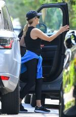 Reese Witherspoon Teams up with her pals for morning exercise in Brentwood