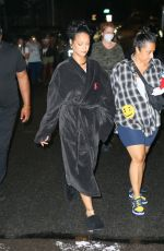 Rihanna Heading to a video shoot in the Bronx, New York
