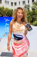 Rita Ora Attends her Prospero Tequila 4th of July Barbecue party in Los Angeles