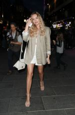 Roxy Horner Leaving the Jungle Cruise Premiere in London