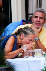Sarah Jessica Parker & Andy Cohen Are seen at Anton
