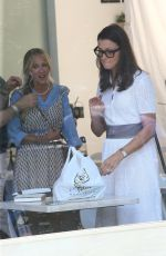 """Sarah Jessica Parker & Bridget Moynahan Film a scene for upcoming sequel """"And Just Like That"""" in New York"""