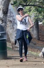 Sarah Silverman Enjoys some fresh air while out for an afternoon walk with her dog in Los Feliz
