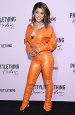 Serayah McNeill At PrettyLittleThing x Winnie Harlow edit launch party at La Mesa Lounge in Los Angeles