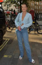 Sharon Gaffka Is seen for the first time since being evicted from the Love Island villa