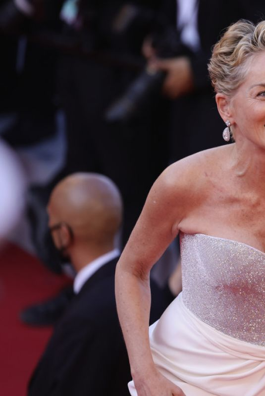 Sharon Stone At Closing Ceremony of The 74th Annual Cannes Film Festival