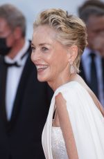 """Sharon Stone Attends the final screening of """"OSS 117: From Africa With Love"""" and the closing ceremony during the 74th Festival"""