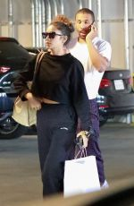 Shay Mitchell Grocery shopping at Erewhon Market in Los Angeles