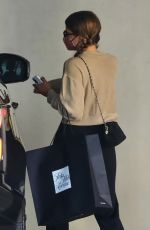 Sofia Richie & her boyfriend are pictured grabbing a frozen treat before heading to do some shopping in Beverly Hills