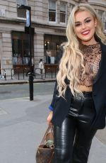 Tallia Storm Attends the Boohoo x Emily Shak launch in London