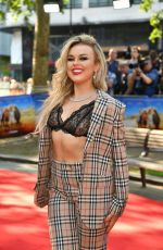 """Tallia Storm Attends the """"Off The Rails"""" World Premiere at Odeon Luxe Leicester Square in London"""