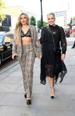 Tallia Storm & Tessa Hartmann Head to World Premiere: Off the Rails at The Odeon, Leicester Square in London