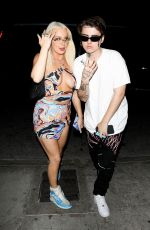 Tana Mongeau Puts her assets on display while stepping out with beau Chris Miles at No Vacancy in Los Angeles