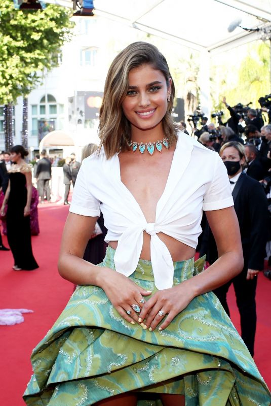 Taylor Hill At Red Carpet for the movie Three Floors (Tre Piani) during the 74th Cannes International Film festival