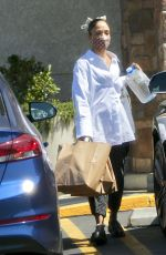Tessa Thompson Is spotted shopping in West Hollywood