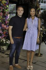 Tisha Merry Arrives at the The Ivy Freedom Day Party in Manchester