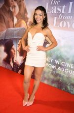 """Vanessa Bauer Attends """"The Last Letter From Your Lover"""" UK premiere at Ham Yard Hotel in London"""