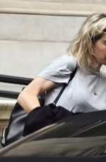 Vanessa Kirby Pictured arriving at the Corinthia Hotel in London