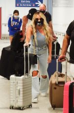 Whitney Rose Real Housewife of Salt Lake City star has left her home comfort zone and landed in Los Angeles