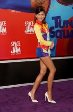 """Zendaya At """"Space Jam: A New Legacy"""" premiere in Los Angeles"""